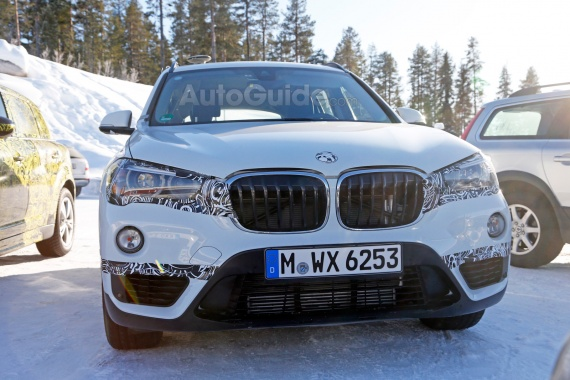 Soon We will see the BMW X1 Plug-in Hybrid