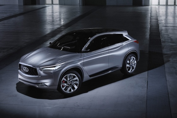 See Infiniti QX Sport Inspiration Concept before its Official Premiere