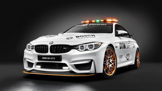 A new DTM safety car from BMW: the M4 GTS