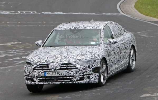 Nurburgring is Testing the 2018 Audi A8