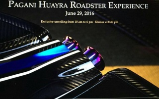 A Quick Look at Pagani's Huayra Roadster