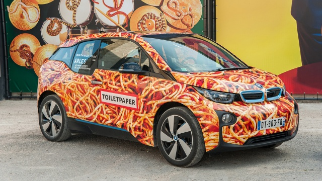 I3 Spaghetti Car from BMW is not an Art Car