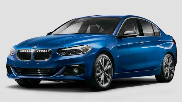 BMW 1 Series Sedan Is Going to Rival the CLA