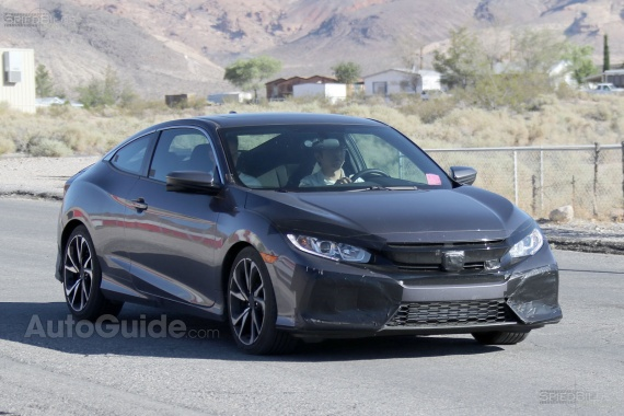 Honda Civic Si without Camouflage