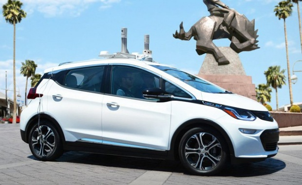 Self-Driving Chevrolet Bolt Prototypes Will be Tested in Arizona