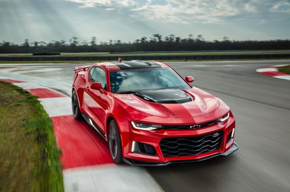 60 MPH in First Gear with Manual Transmission from Chevy Camaro ZL1