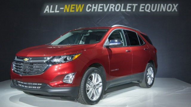 New Weight Of 2018 Chevrolet Equinox