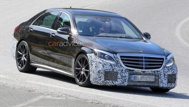 S-Class Facelift From Mercedes-Benz Was Spotted Testing On AMG S63 Version