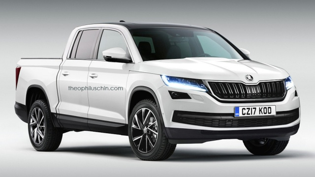 Will Skoda Make a VW-Based Pick-Up?