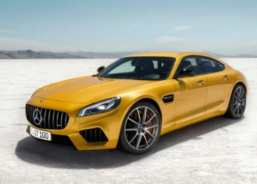 GT4 From Mercedes-AMG Should Come Out Soon