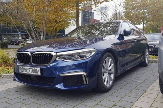 2017 BMW M550i xDrive's Outlook