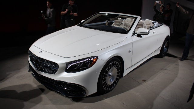 A 'Problem' With Mercedes-Maybach S650 Cabriolet In America