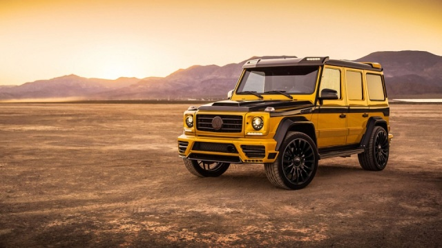 Mansory Fits Mercedes G-Class With 840 HP