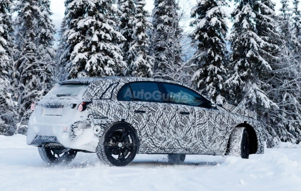 Next-Gen GLA From Mercedes Spied Using A-Class Mule