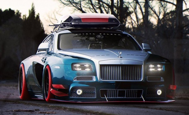 Thanks God, This Rolls-Royce Wraith Is Not Real