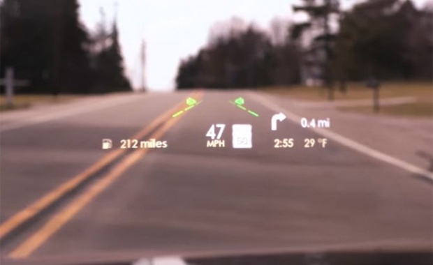 Film Theater Technology For Lincolns Latest Head-Up Display
