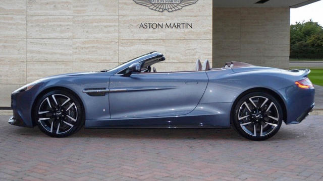 One-Kind Aston Martin Vanquish Volante Costs $295K
