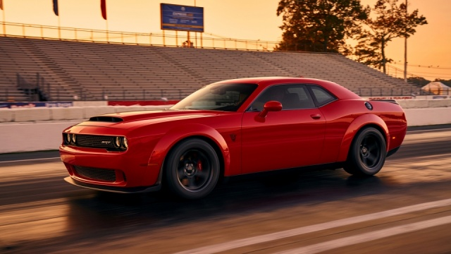 A Snap of Dodge Demon Leaks Before Its Official Presentation