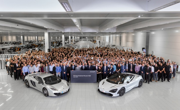 Production Of The 1st McLaren 720S