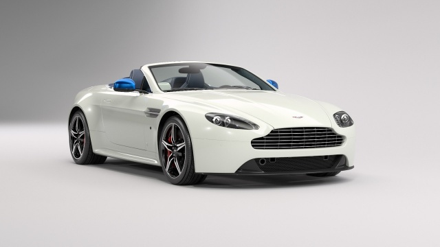 British Culture Is Celebrated With Aston Martin V8 Vantage S GB Edition