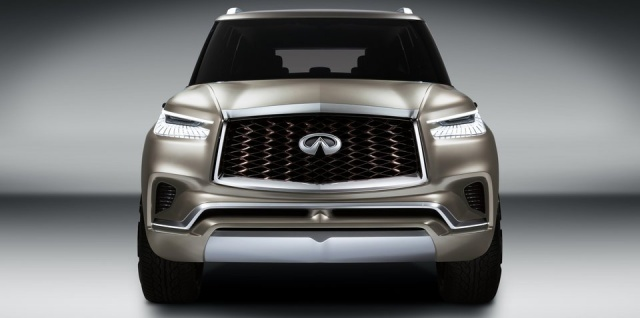 Next Year's Infiniti QX80 With V8 Motor And Current Underpinning