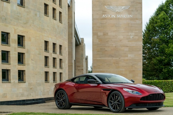 New Aston Martin Vantage Could Be Revealed By A Patent Application