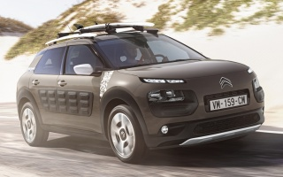 Crossover Citroen C4 Cactus will turn into a hatchback