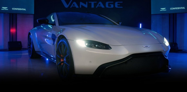 Presentation Of The Next Year's Aston Martin Vantage