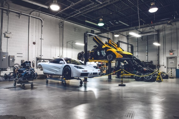 U.S., Meet The 1st North American McLaren F1 Service Centre