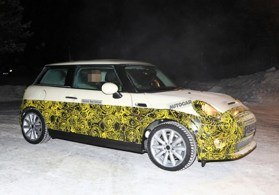 Electric MINI Electric was brought to tests in the conditions of the north