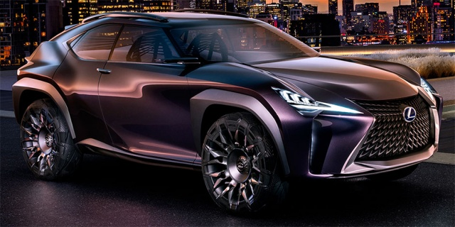 Will Production Lexus UX Be Presented This Spring?