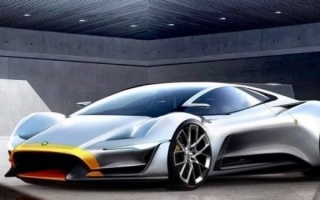 Geneva in anticipation of the debut the 1000-strong hypercar Lister Storm II