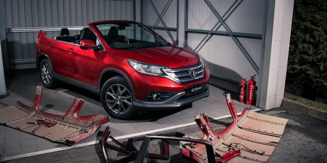 Honda created a 'fictitious' SUV-cabriolet