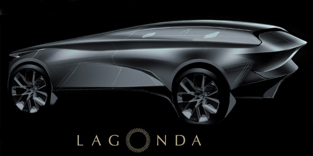 Aston Martin make a crossover on electricity from sub-brand Lagonda