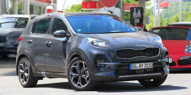 Updated Kia Sportage seemed ahead of time