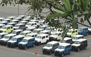New Suzuki Jimny goes to production