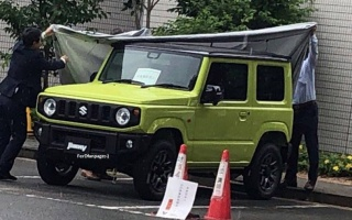 New Suzuki Jimny declined ahead of time