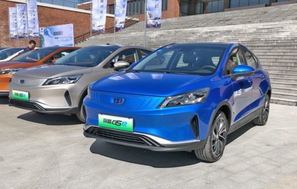 Geely launched the production of electric crossover Emgrand GSE