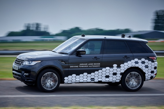 Car Tech Trialling In Jaguar Land Rover