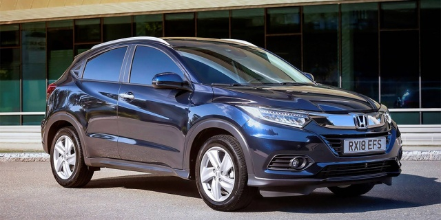 Europe received the updated Honda HR-V