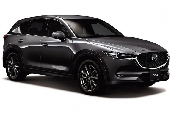 Mazda presented the restyled CX-5
