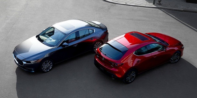 Officially introduced the new Mazda3