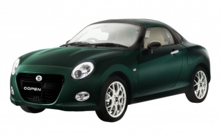 Compact Daihatsu Copen Coupe released a limited edition