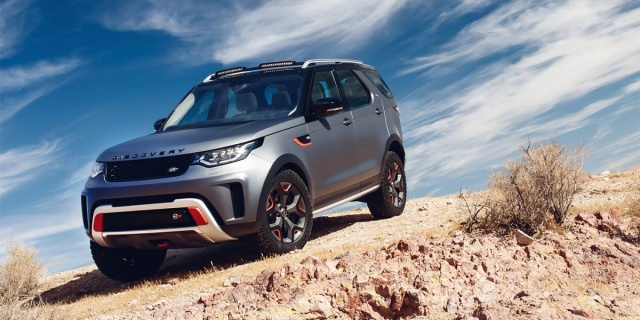 Extreme Land Rover Discovery will not appear
