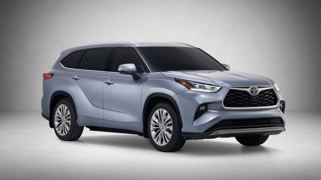 New Toyota Highlander 2020 pictures