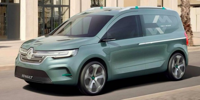 Renault will have a brand new electric van