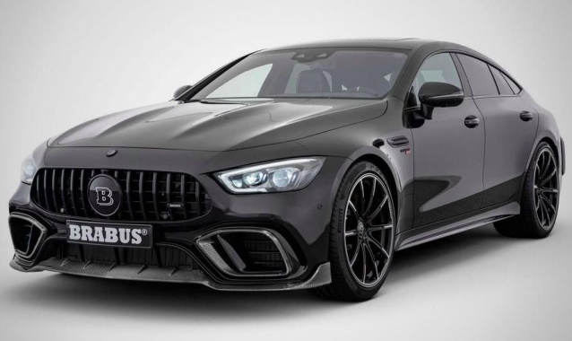 Brabus created Mercedes-AMG GT with an 800-strong unit