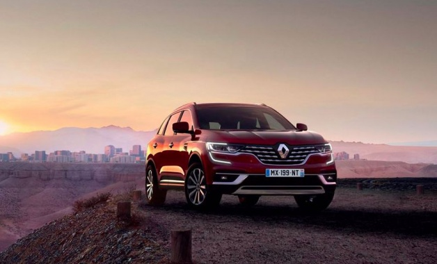 Renault Koleos updated and declassified
