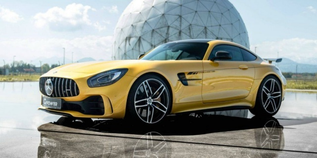 The Mercedes-AMG GT is 800 HP with tuners
