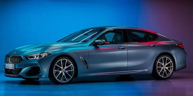 BMW's new 4-door 'eight' appeared on the first photo